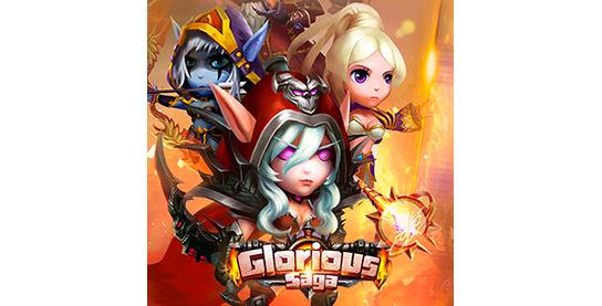 Запуск нового оффера Glorious Saga в системе ADVGame!